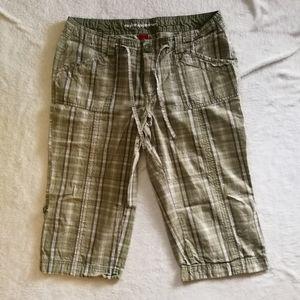 Bum Equipment Plaid Cropped Pants